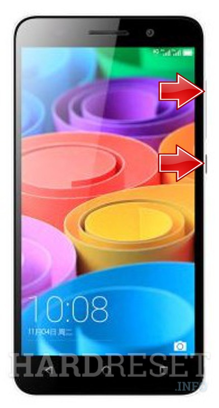 Remove screen password on HUAWEI Honor 4X