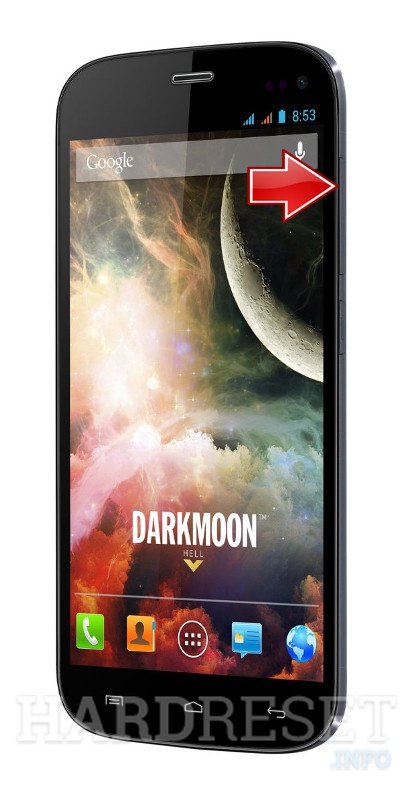 Wipe data WIKO Darkmoon
