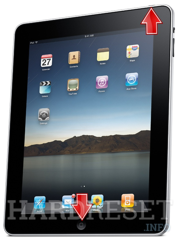 HardReset APPLE iPad WiFi