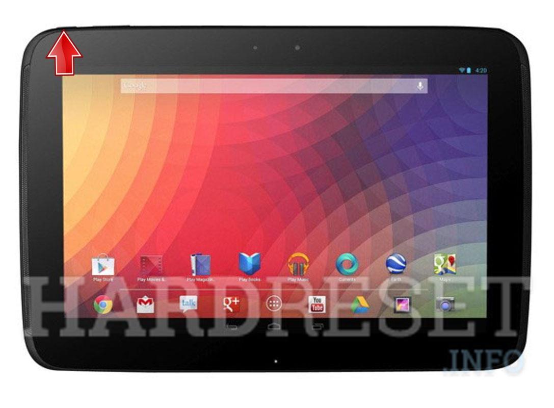 Bootloader Mode - SAMSUNG P8110 Nexus 10 - HardReset info