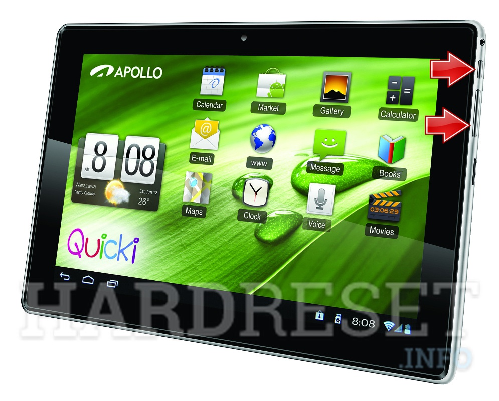 HardReset APOLLO Quicki 1150