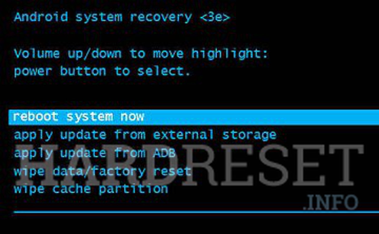 Factory Reset HP 8