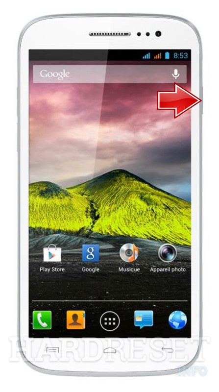 Hard Reset WIKO Cink Five