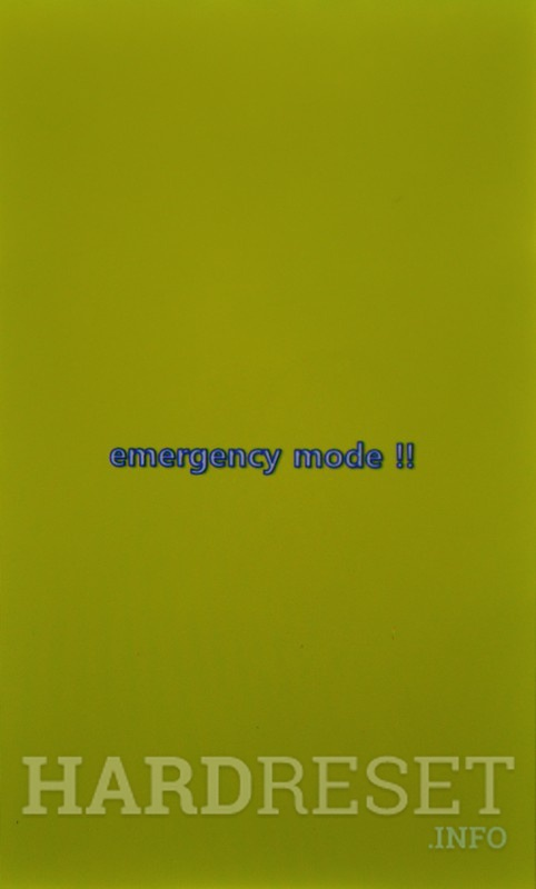 Emergency Mode LG E445 Optimus L4 II Dual - HardReset info