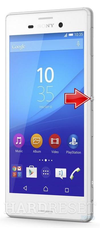 Fastboot Mode Sony Xperia M4 Aqua E2303 Hardreset Info