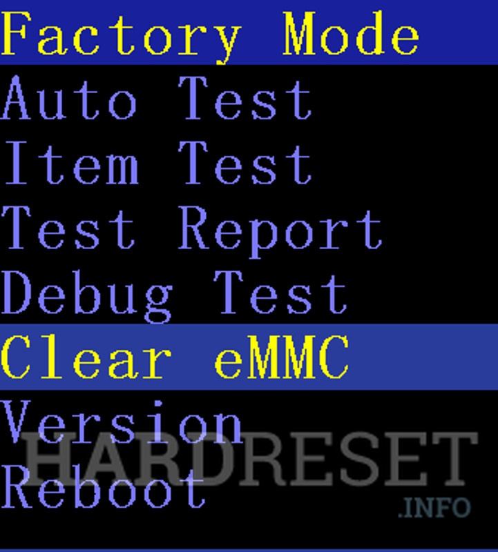 Factory Reset iOCEAN X7 HD