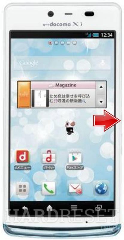 Hard Reset SHARP SH-04E Aquos Phone EX - HardReset info