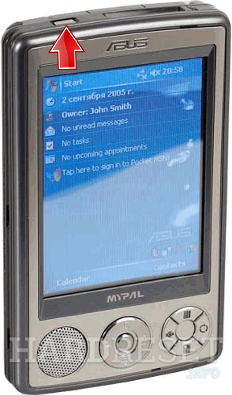 Asus MyPal A632N Drivers Update