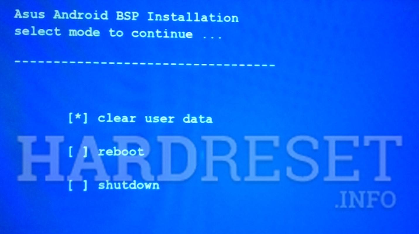Hard Reset ASUS ME70C Memo Pad 7 - HardReset info