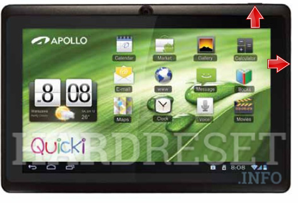HardReset APOLLO Quicki 728