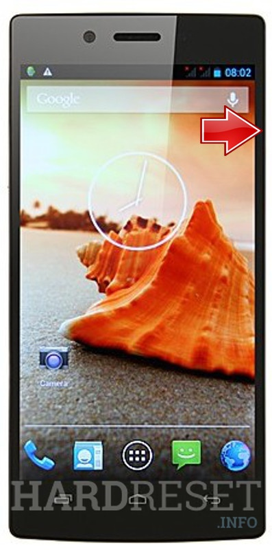 Hard Reset iOCEAN X7 Turbo