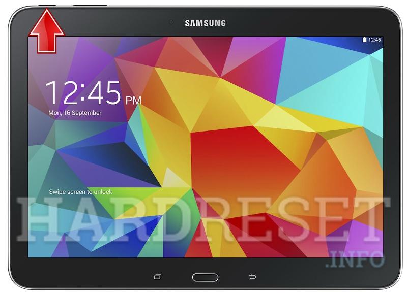 samsung tablet retail mode