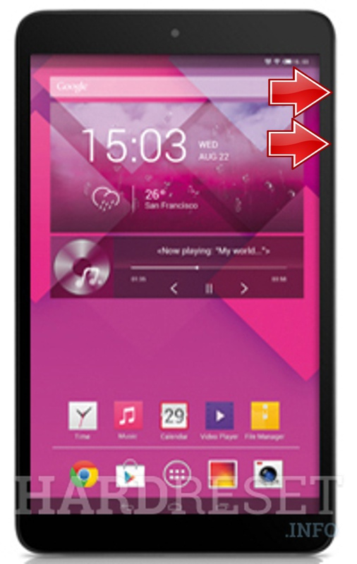 HardReset ALCATEL One Touch POP 8