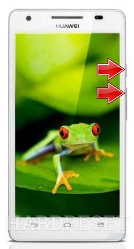 Wipe data on HUAWEI Honor 3C