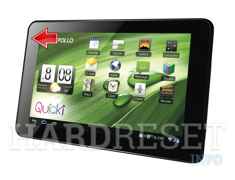 Hard Reset APOLLO Quicki 770