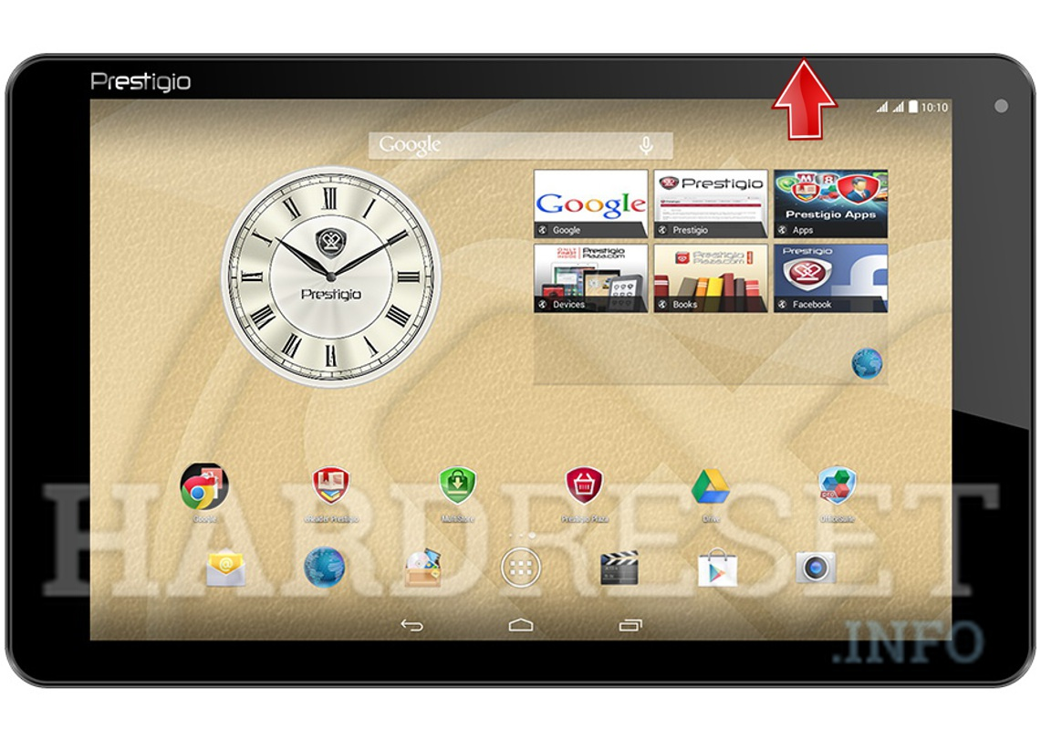 Wipe data PRESTIGIO 5021 MultiPad Muze
