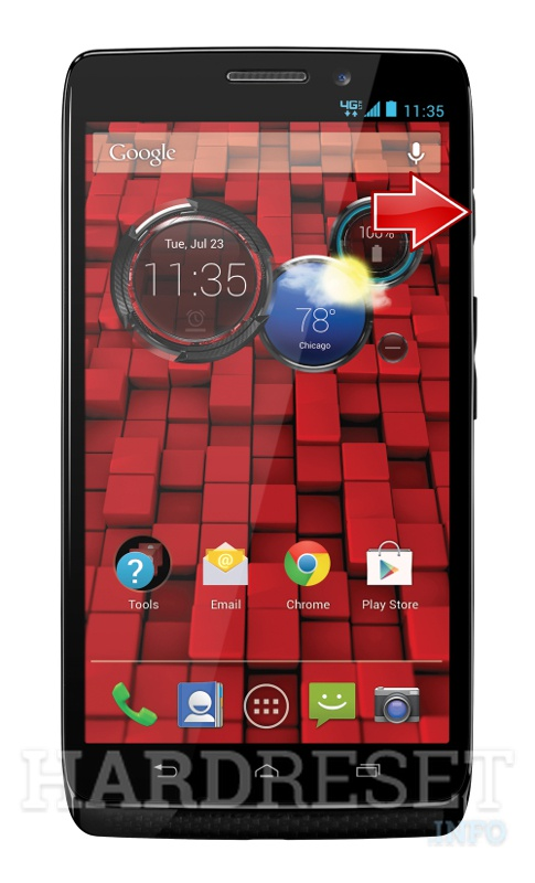 Hard Reset MOTOROLA Droid Ultra