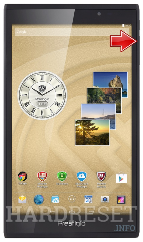 Wipe data PRESTIGIO 7008 MultiPad Consul 4G