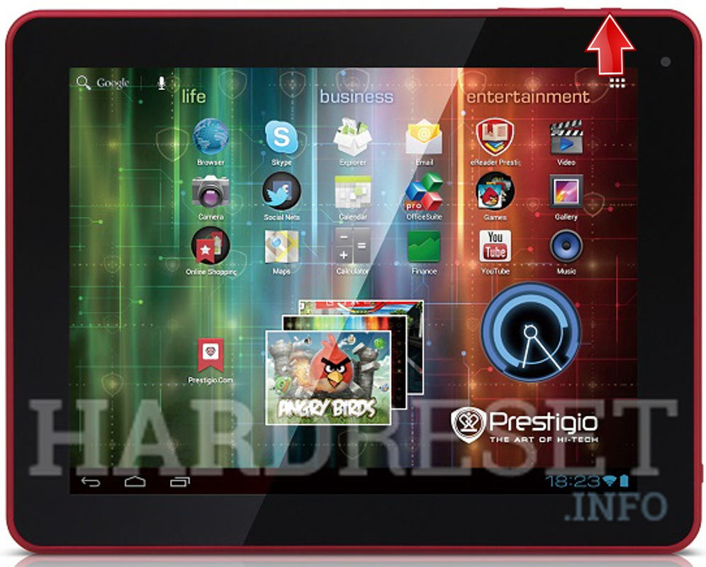 Hard Reset PRESTIGIO MultiPad 10.1 ULTIMATE 3G