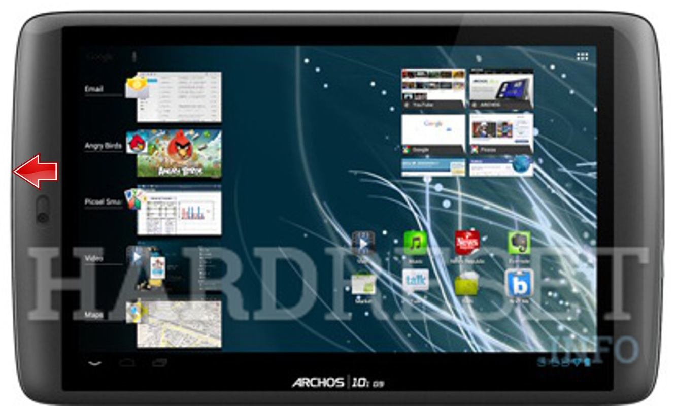 Hard Reset ARCHOS 101 G9 Flash