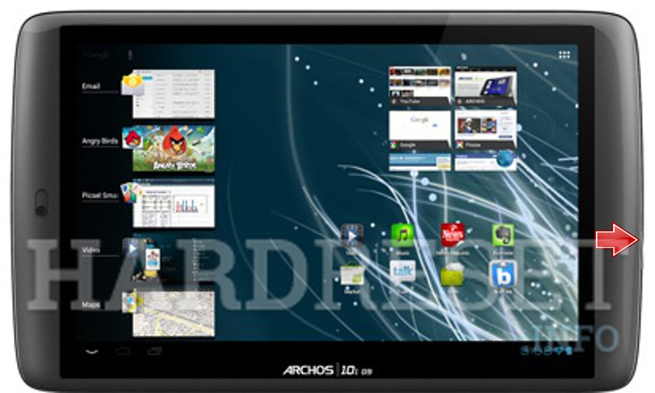 Master Reset ARCHOS 101 G9 Flash
