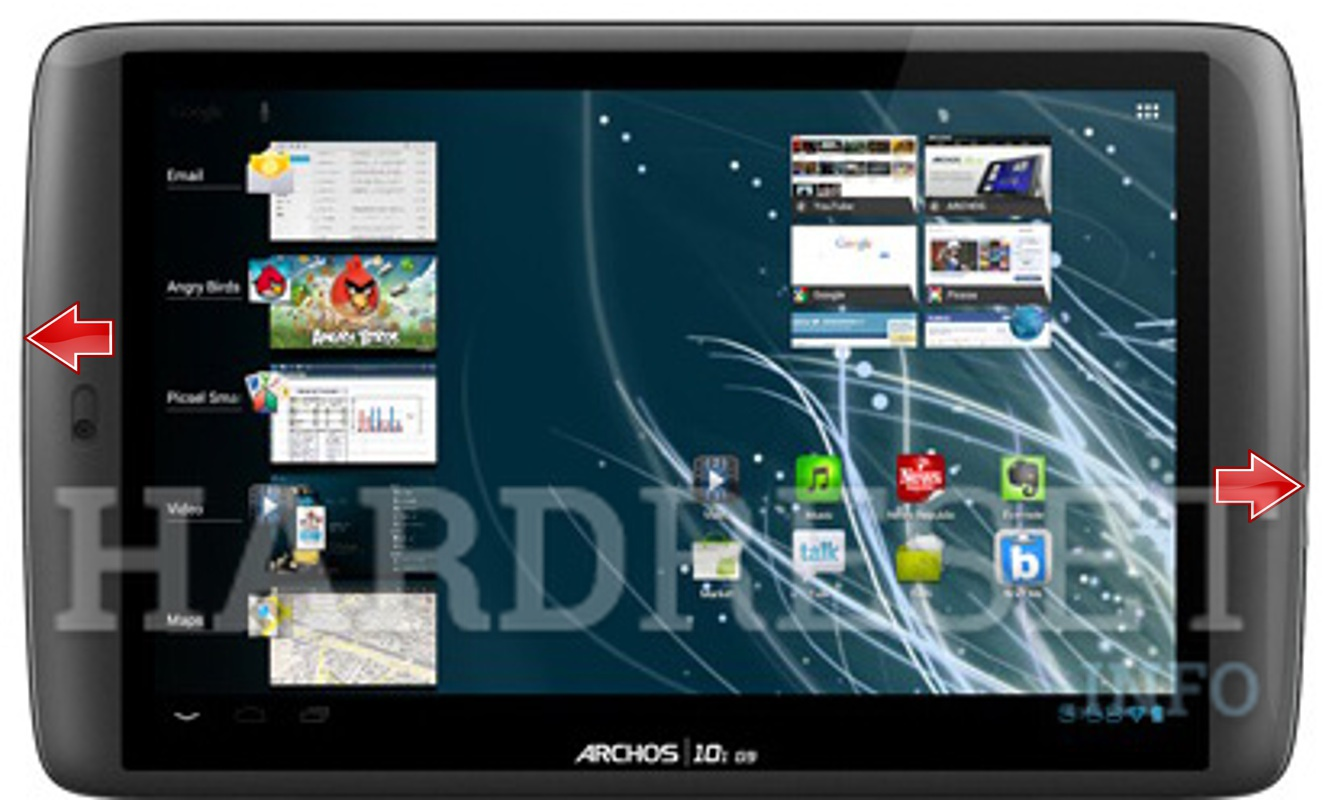 HardReset ARCHOS 101 G9 Flash