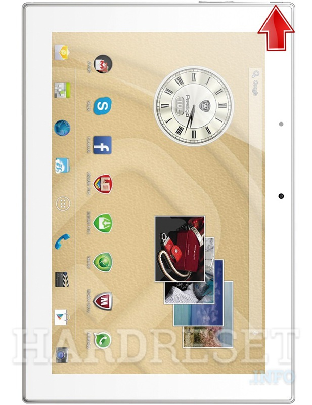 Hard Reset PRESTIGIO Multipad 4 Diamond 10.1 3G