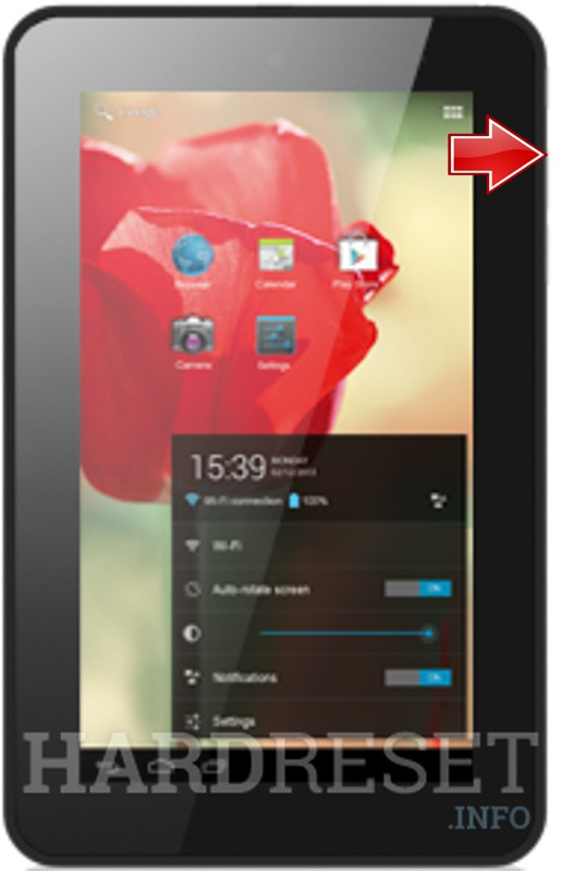 Master Reset ALCATEL ONE TOUCH TAB 7