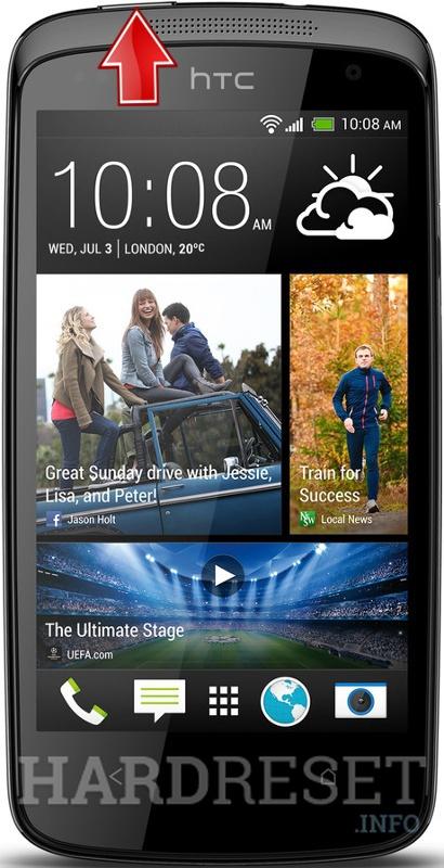 Bootloader Mode HTC Desire 500 Dual SIM - HardReset info