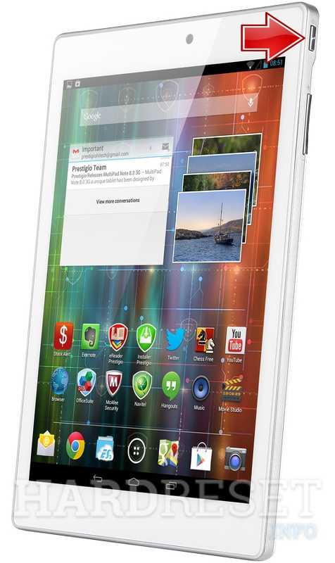 Hard Reset PRESTIGIO Multipad 4 DIAMOND 7.85