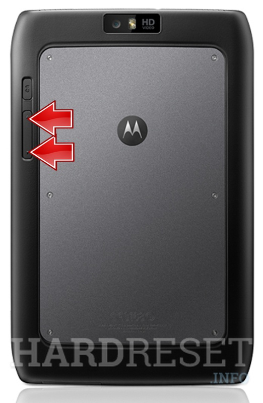 Factory Reset MOTOROLA MZ608 Xoom 2 Media Edition 3G