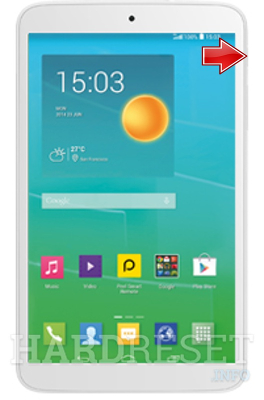 Hard Reset ALCATEL One Touch 8S