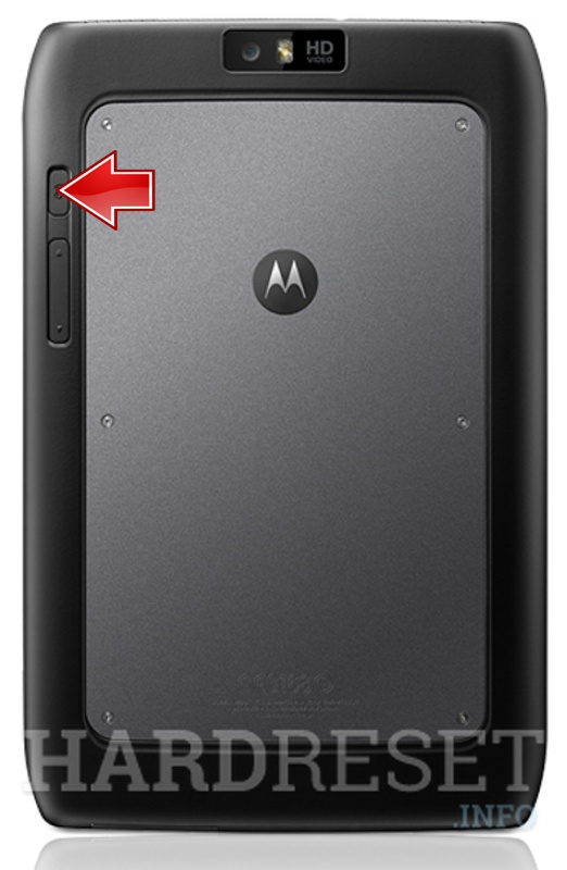 Hard Reset MOTOROLA MZ608 Xoom 2 Media Edition 3G