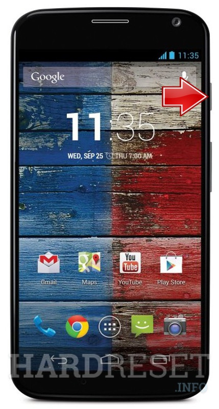 Permanently delete data from MOTOROLA XT1058 Moto X