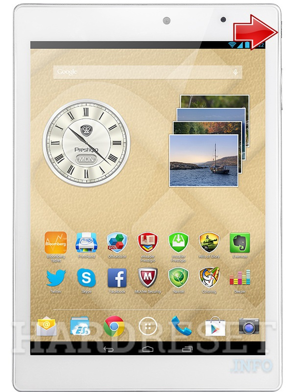 Hard Reset PRESTIGIO MultiPad 4 DIAMOND 7.85 3G
