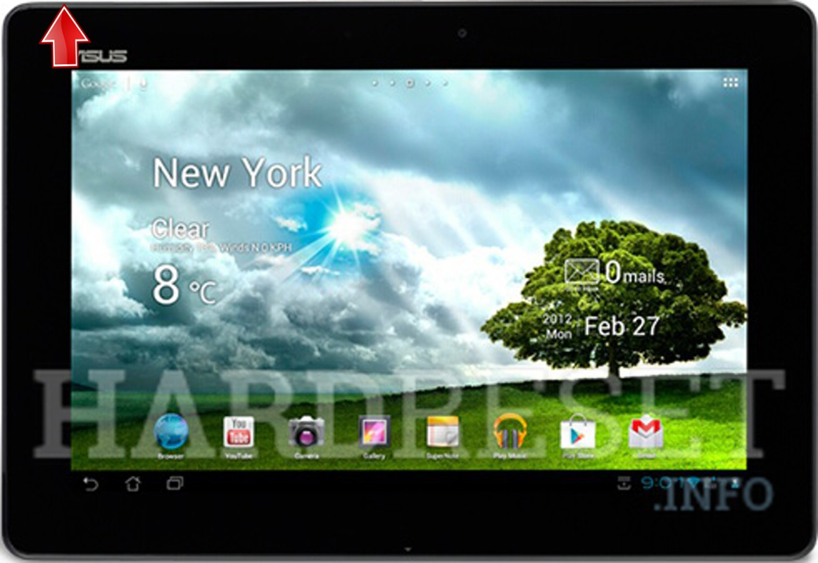 Hard Reset ASUS Memo Pad Smart 10