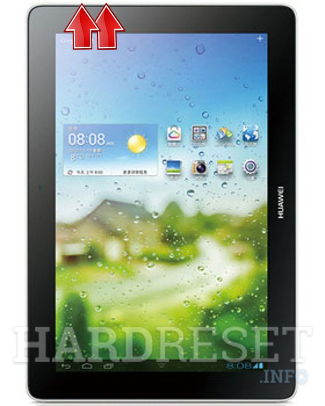 Wipe data on HUAWEI MediaPad 10 Link