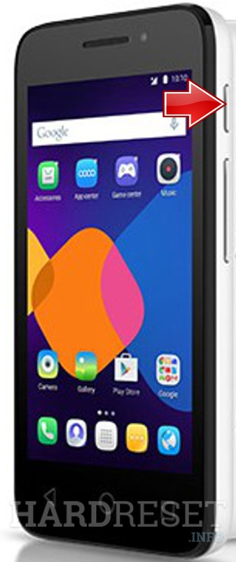 Hard Reset ALCATEL 4027A Pixi 3 (4.5) 3G
