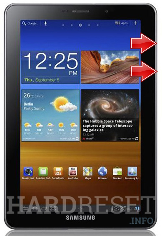 Remove screen password on SAMSUNG P6800 Galaxy Tab 7.7