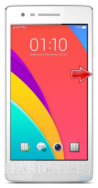 Hard Reset OPPO Mirror 3