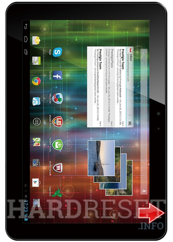 Hard Reset PRESTIGIO MultiPad 4 Ultimate 10.1 3G