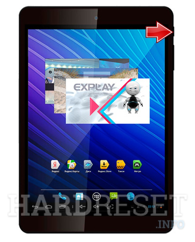 Hard Reset EXPLAY i1