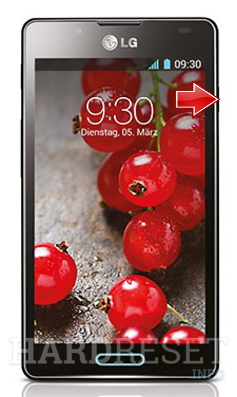 Wipe data on LG Optimus L7 II P713