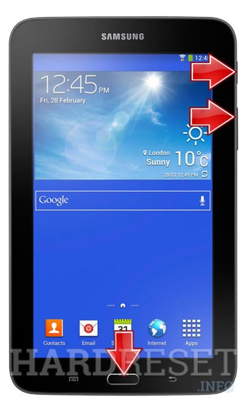 Hard Reset SAMSUNG Galaxy Tab 3 Lite 7.0 | dk hard reset