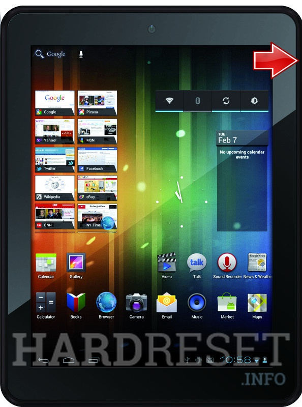 Remove screen password on PRESTIGIO MultiPad 5080 PRO