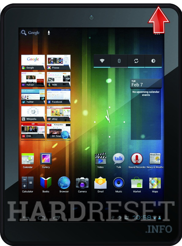 Wipe data on PRESTIGIO MultiPad 5080 PRO