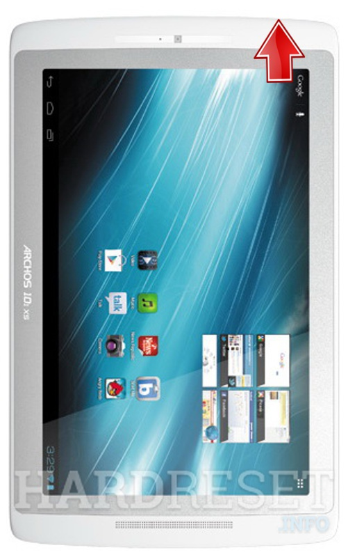 Remove screen password on ARCHOS 101 XS