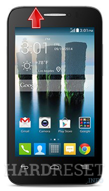 Hard Reset ALCATEL OneTouch Evolve 2 4037T