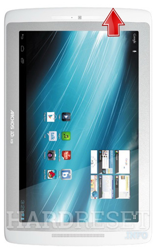 Wipe data on ARCHOS 101 XS