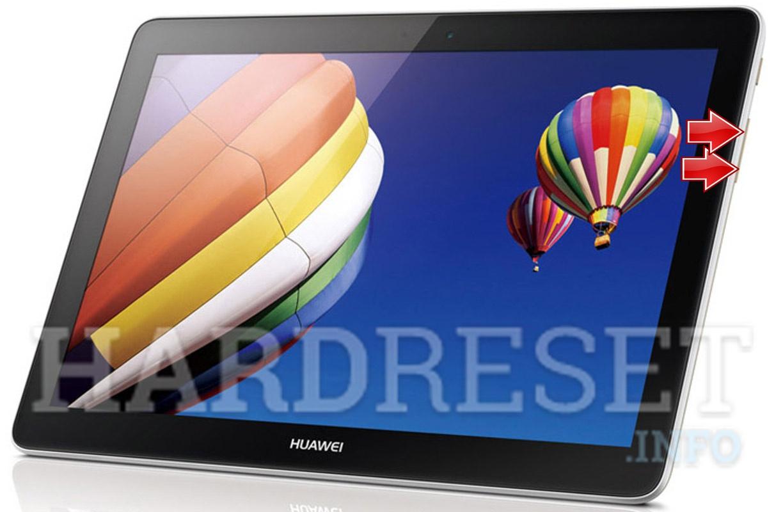 Hard Reset HUAWEI MediaPad 10 Link+ 3G/LTE | dk hard reset